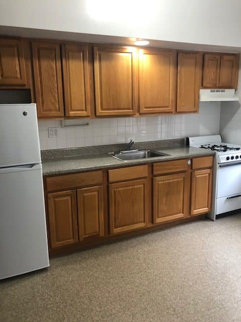 AFFORDABLE STUDIO WITH SEPARATE EAT-IN KITCHEN